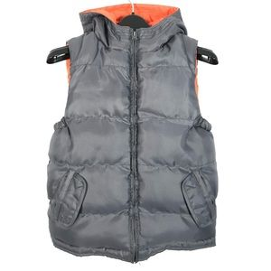Joe fresh puffer jacket vest hooded
